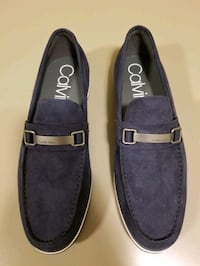 Calvin Klein Dress Shoes- Dark Navy Blue Suede New Haven, 06511
