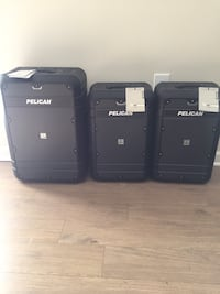 Pelican Elite Luggage Carry-On 3 Piece Set (27' and Two 22') Arlington, 22202