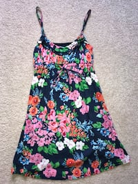 Aeropostale blue pink floral flowers dress size XS Fall River, 02720