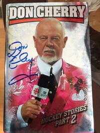 Don Cherry signed book New.