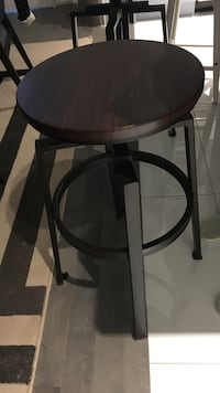 Adjustable height bar stools with metal base Toronto, M2H 2B1
