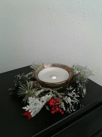 Glade glass candle holder only