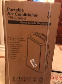 white and gray portable air conditioner box Potomac