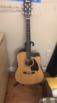 brown and black acoustic guitar Fairfax, 22033