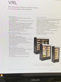 Commercial deli coolers and freezer, in good shape  Portland, 97239