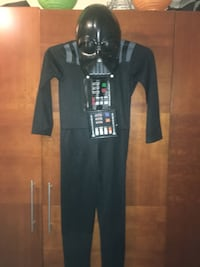 Boy Darth Vader Costume Size XL 12-14 Includes Talking Mask  Las Vegas, 89183