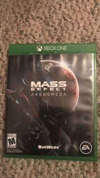 Mass Effect Andromeda Xbox One game case Robertsdale, 36567