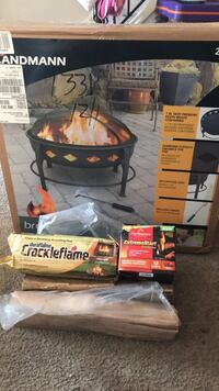 Brand new fire pit and wood  Alexandria, 22304