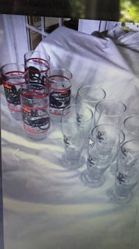 Vintage beer glasses- great for man cave Bristow, 20136
