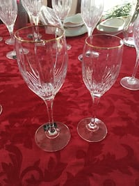Mikasa Golden Lights  crystal glasses  Odenton, 21113