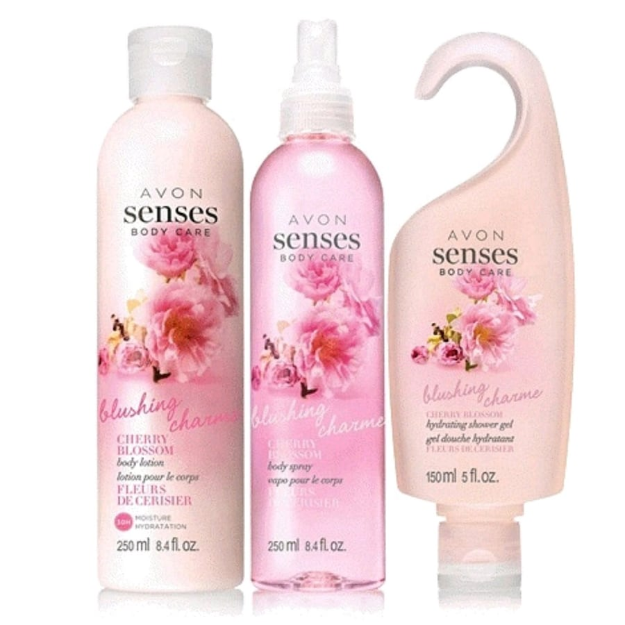Senses Cherry Blossom 3 piece Pack