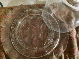 Holiday Glass Plates