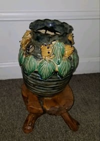 Indoor Handmade Plant Stand and Pot