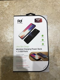 Wireless power bank charger Montreal
