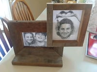 Picture frame made out of reclaimed barn wood Corona, 92880