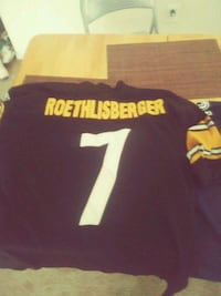 black and yellow Nike NFL jersey 18 mi