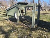 Chicken coop and supplies
