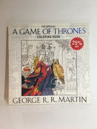 Game of Thrones colouring book Mississauga, L5C
