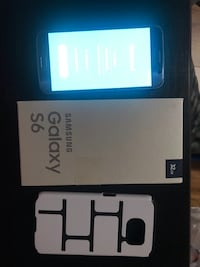Unlocked Samsung galaxy s6 32 GB comes with box and a case. No scratches no working issues   3693 km
