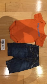 Gymboree baby boy clothes 0-3 months Mississauga, L5V 1J3