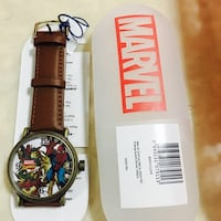 MARVEL MEN'S SPIDER-MAN ANALOG QUARTZ WATCH NEW