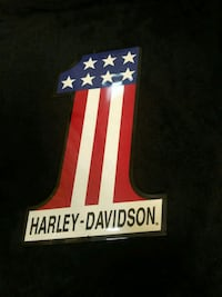 Harley Davidson metal sign Folsom, 95630