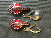 Classic Silver and red harley davidson emblem Centreville, 20121