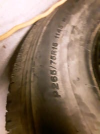 brand new truck tire only have one Harpers Ferry, 25425