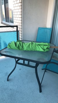 Patio table/chairs/umbrella Rockville, 20852