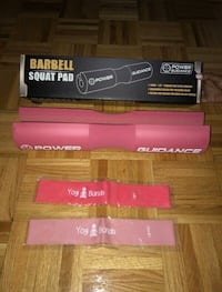 Barbell Pad and Resistance Bands Vaughan, L6A 3L9