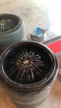20 inch rims with tires obo