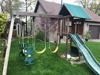Solowave Children's Swing Set and Fort Mississauga, L5G 2P5