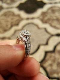 White gold diamond ring..bo or trade Manassas, 20111