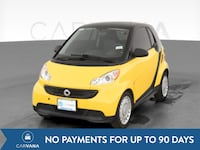 2014 smart fortwo coupe Passion Hatchback Coupe 2D Yellow