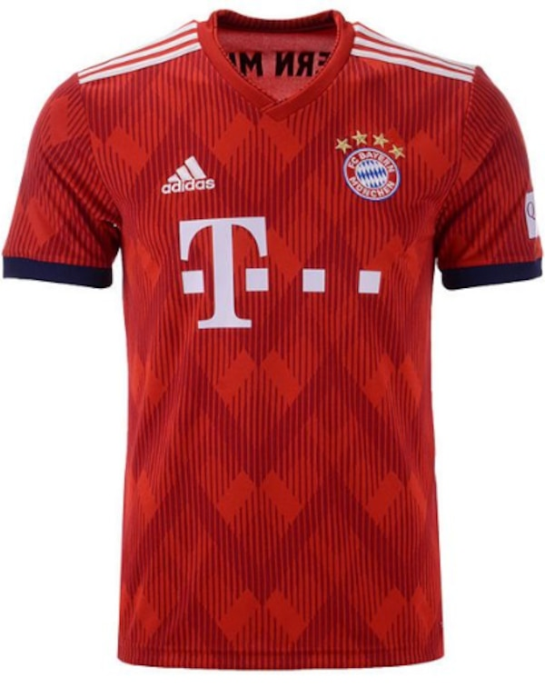 huge selection of 606a9 823f9 Bayern Munich Jersey 2018-2019. New with tags. Lewandoski, Robben, Ribery,  Thiago, Alaba, Rodriguez, Muller, Boateng, Hummels