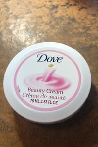 Dove beauty cream CLINTON
