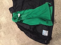 Black and green full zipped jacket Germantown, 53022