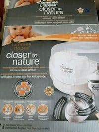 Tommee Tippee w/ 1 bottle & Dr. Browns Steam Bags Kitchener, N2E 4C7