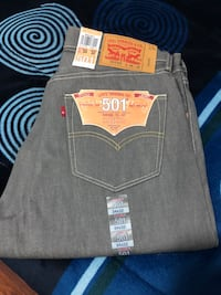 Levis shrink to fit size 34 by 32  new color gray  Oxnard, 93033