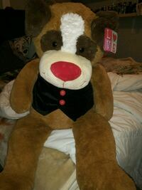big plush dog like new with tags!!