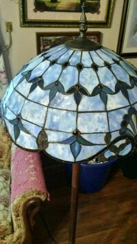 white and blue tiffany pendant lamp 375 km