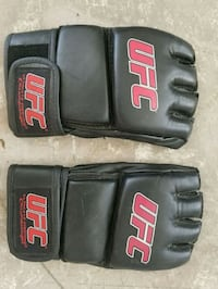 black and red UFC gloves Las Vegas, 89145