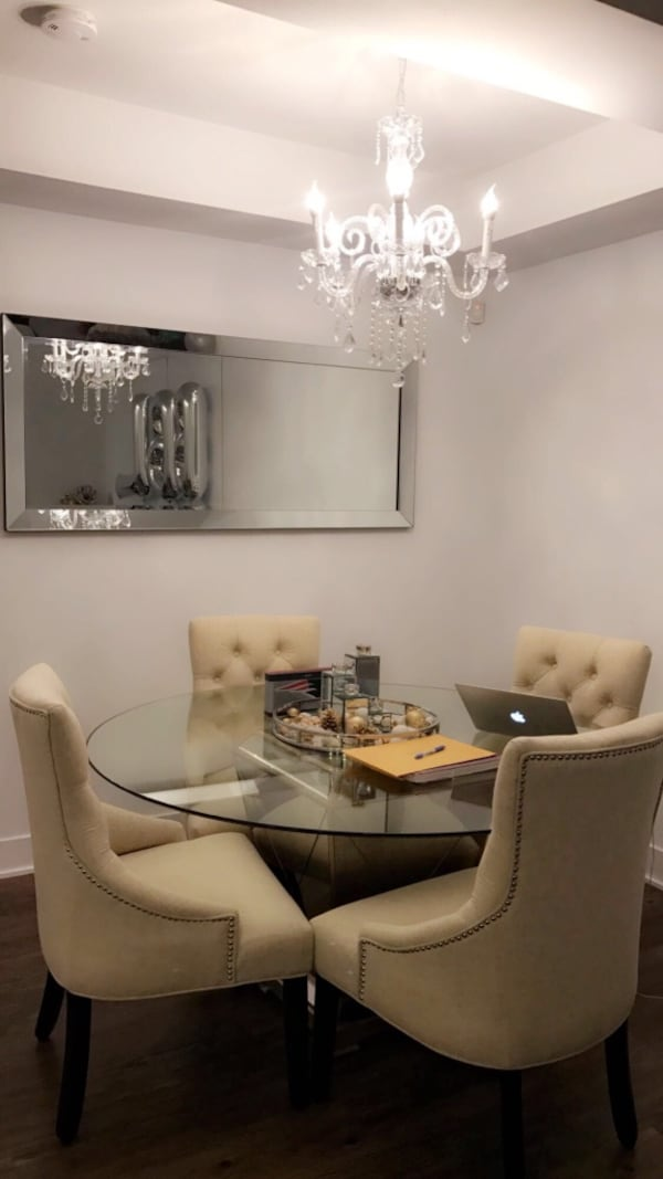 Used Borghese Round Dining Table From