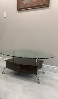 Glass coffee table Mississauga