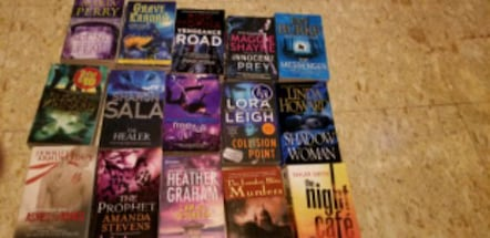 Mysteries and crime books