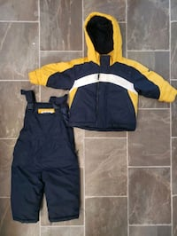 Toddler snow suit set jacket and pants 18 months