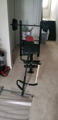 wieder pro 265 weight bench with pull up bar  Brampton, L7A 0G2