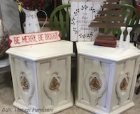 Octagon side tables 548 km