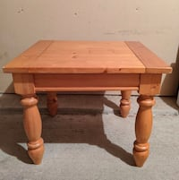 Wooden Coffee Table 25x23x20 Furniture