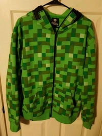 Minecraft Creeper Zip-Up Hoodie Bristow